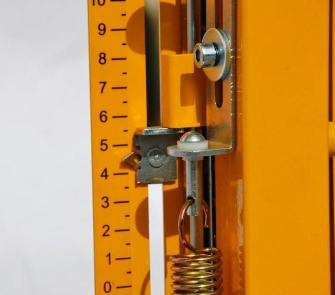 Penopolüstürooli lõikur Stobra ECO - Lõikekõrguse fiksaatorid