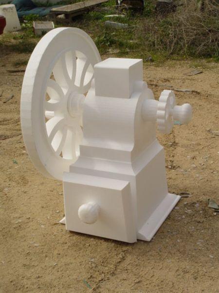 Hot wire CNC foam cutting mashine T-Series!