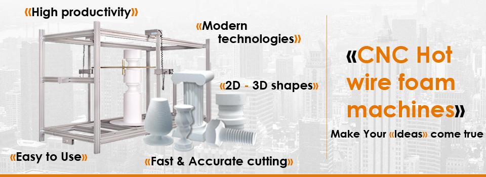 CNC Hot wire foam machines