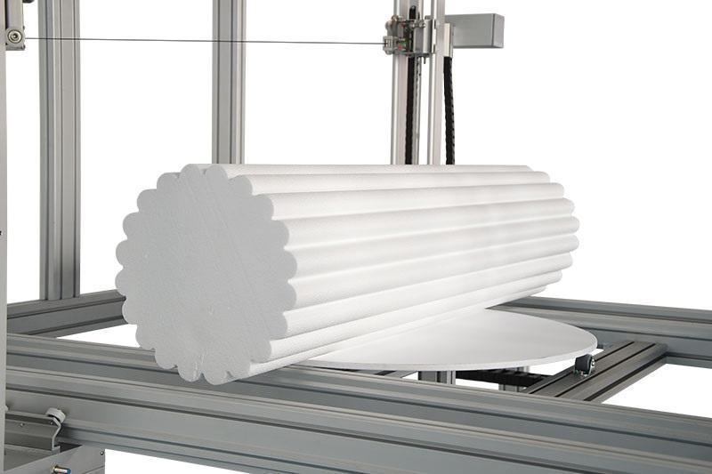 Hot wire CNC foam cutting machne