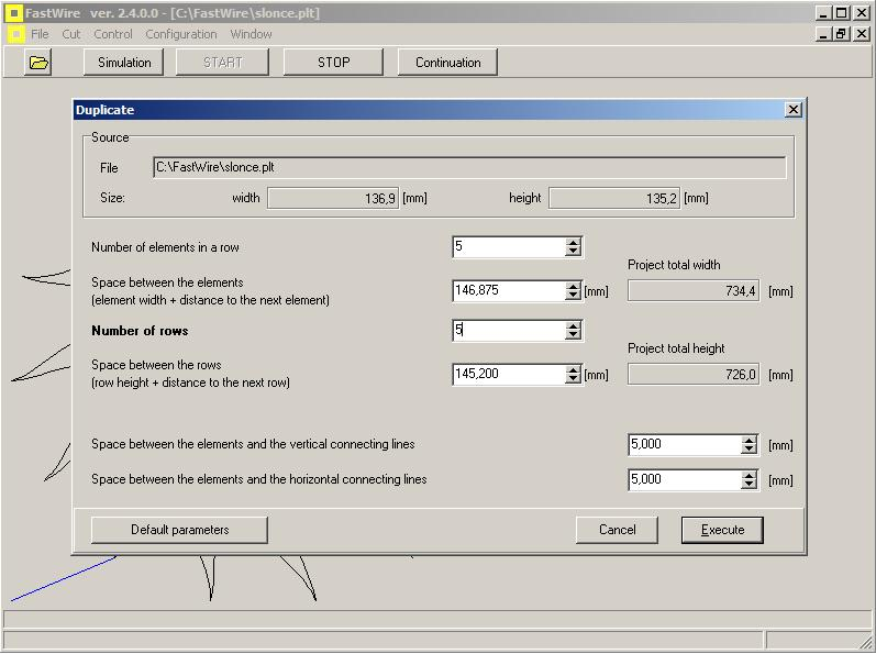 XTR Fast wire cutter - FastCut Software